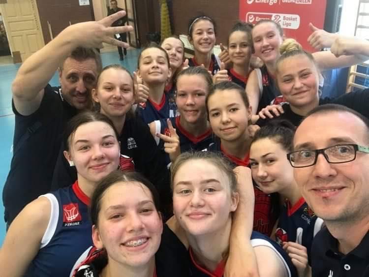 U16K: Kadetki Szkoły Gortata Politechniki Gdańskiej brązowymi medalistkami Mistrzostw Polski!