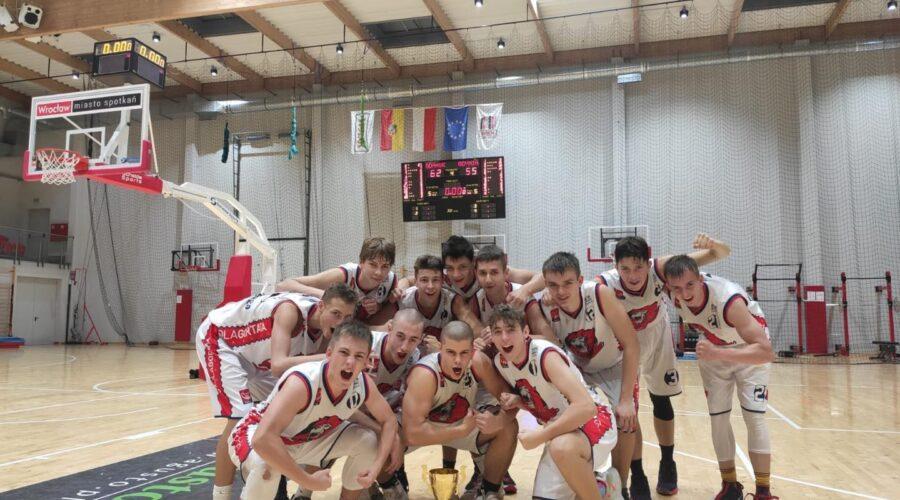 U16M: Kadeci Szkoły Gortata Politechniki Gdańskiej 7. drużyną w kraju